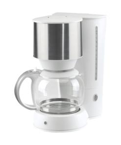 Kaffebryggare vit/rostfri design kaffe-rep.se