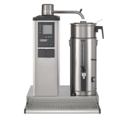 Urnbryggare med 1 bryggpelare, 1 behållare till vänster eller höger 5 liter.